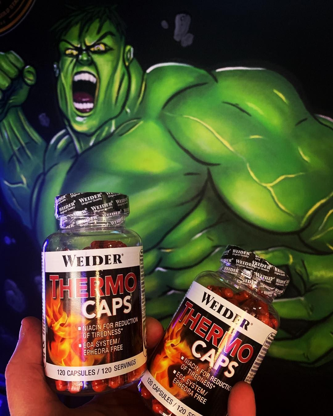 WEIDER PACK DUO ThermoCaps (2X120 Caps.)