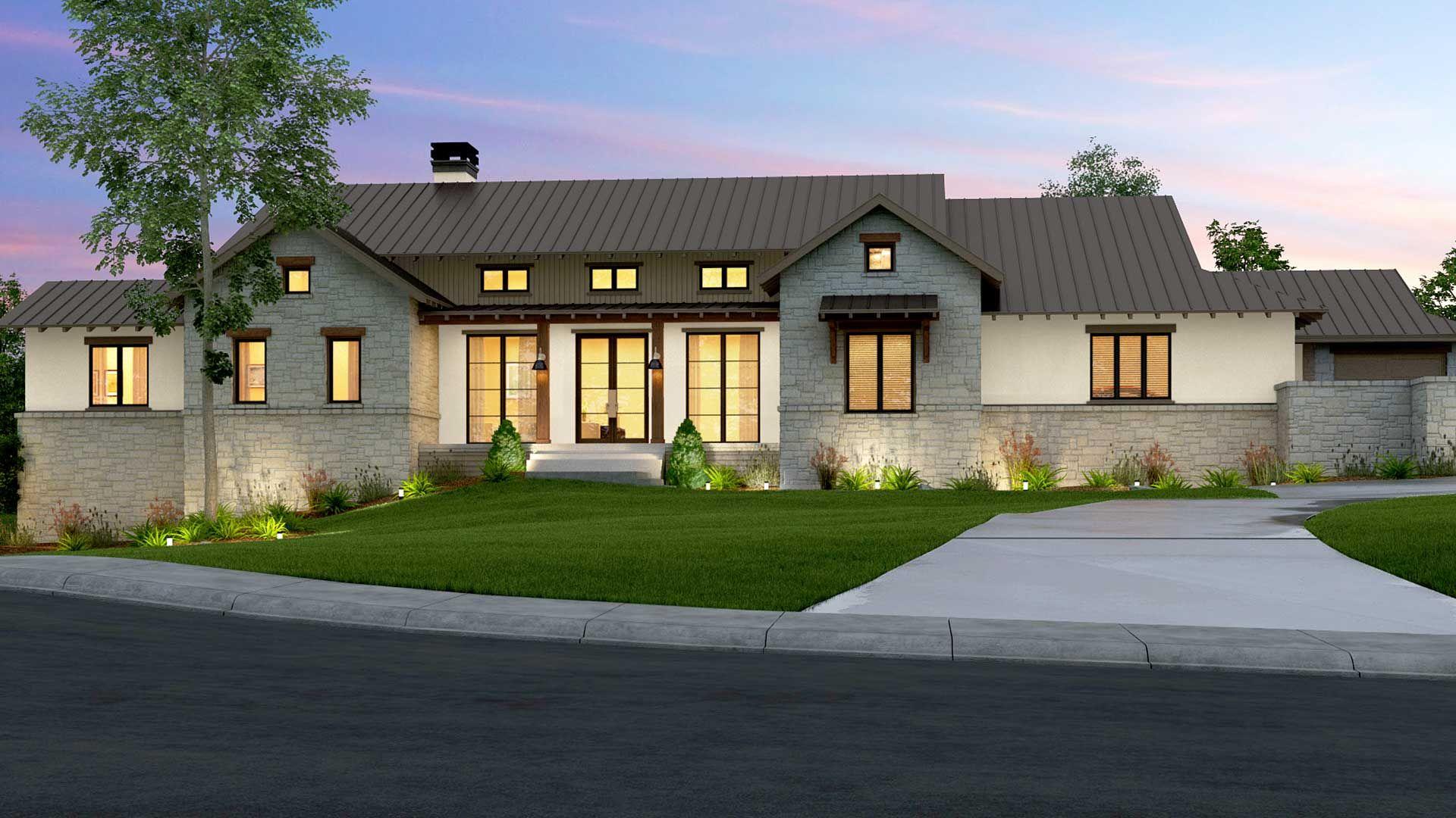 Garner Homes   Modern Farmhouse in Cordillera Ranch ...