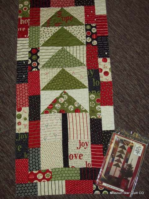 fabric: countdown to christmas   pattern:  the tallest tree