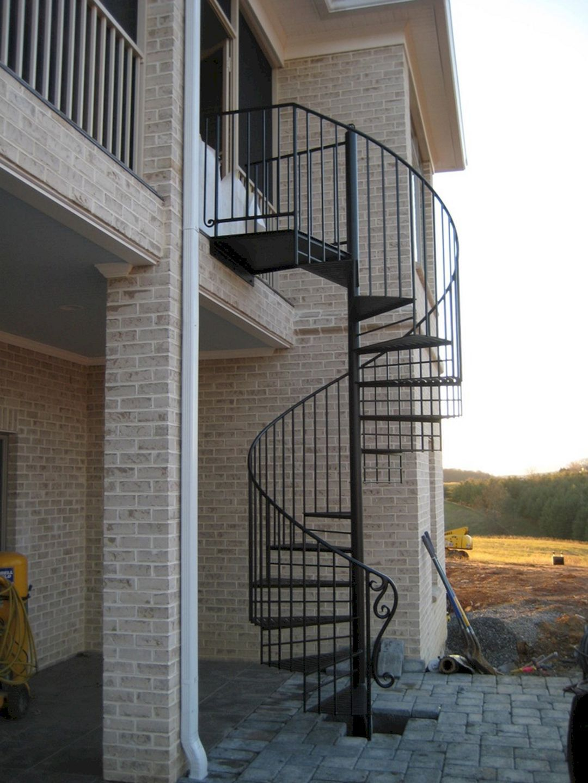 Fabulous 25 Exterior Spiral Staircase Ideas To Inspire You Freshouz Com Staircase Outdoor Spiral Staircase Outdoor Staircase Metal