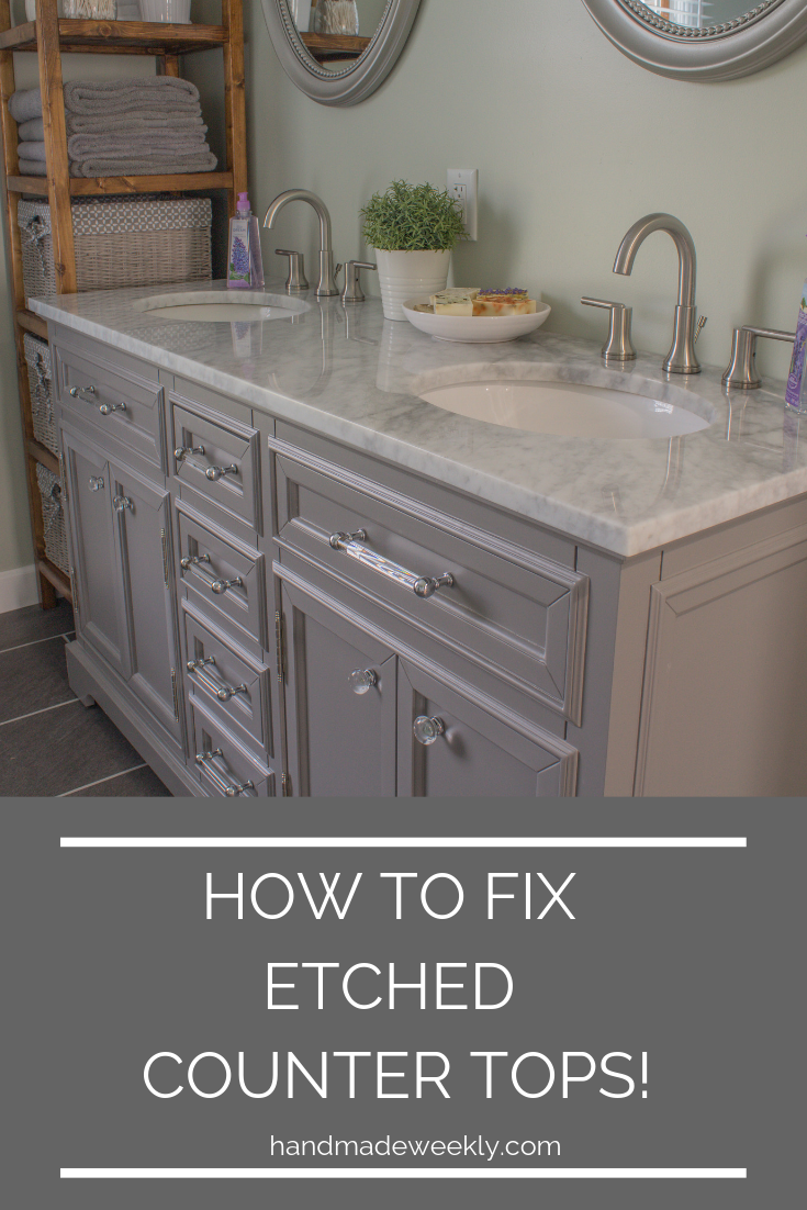 How To Remove Etch Marks From Marble Etching Diy Marble Kitchen Remodel