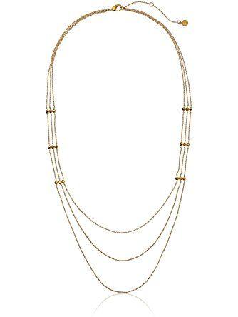 Gorjana Gold Rush Layer Necklace in Metallic Gold YfJyg1f