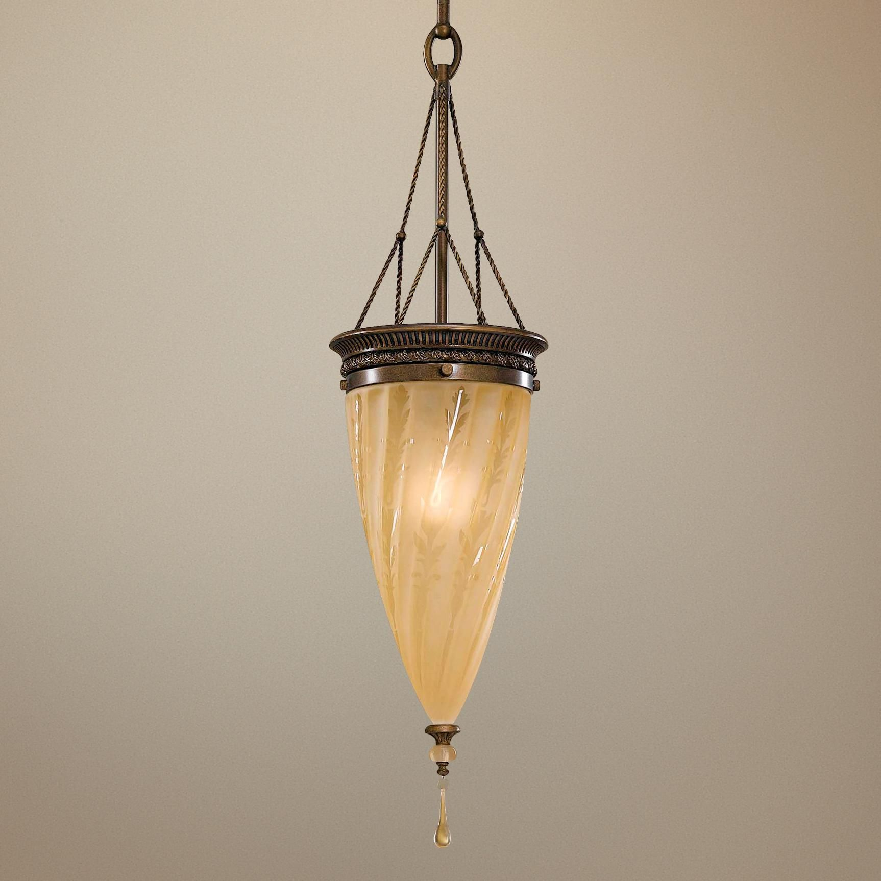 Murray Feiss Trinity Single Light Pendant Chandelier