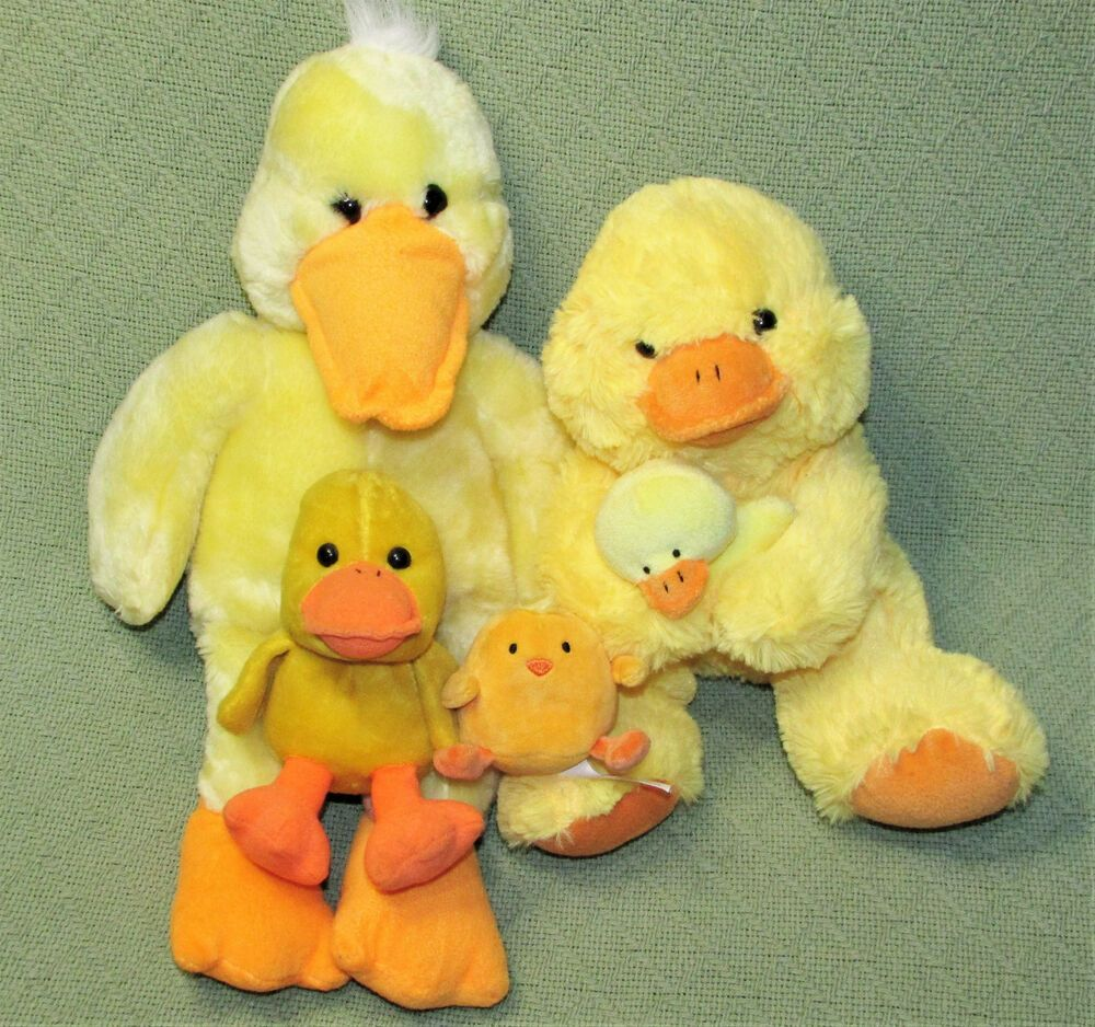 Phenomenal Yellow Duck Plush Lot Stuffed Animals 1999 Animal Adventure Squirreltailoven Fun Painted Chair Ideas Images Squirreltailovenorg