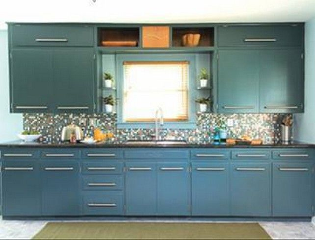 Kitchen Remodeling Trends Painting Magnificent Chalk Paint Kitchen Cabinets Stepstep — Modern Kitchen Trends . Decorating Design