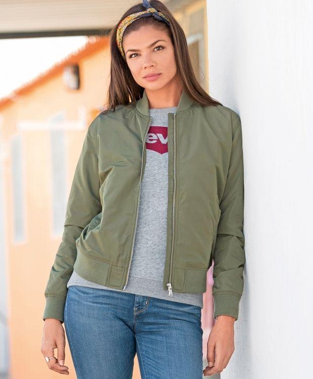 66367079 Levi's Fashion Bomber | Vår 2017 | Fashion, Jackets og Bomber Jacket