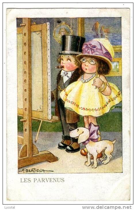 Illustrateur A. Bertiglia - Les Parvenus - 1921 - N° 2164