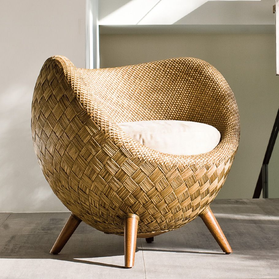 La Luna Lounge Chair Janus Et Cie Outdoor Furniture  # Bitacora Muebles