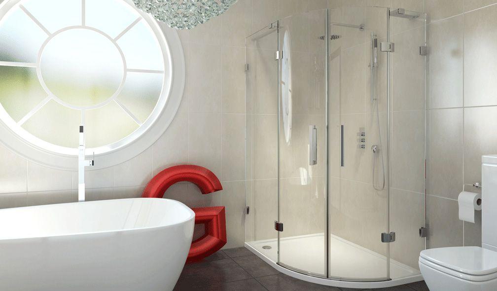 PO-310_1000_800_Enclosure 8 series Frameless Offset Quadrant Shower ...