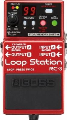 RC-3LS - Loop Station - Long & McQuade Top 10 FX Pedals Best Sellers