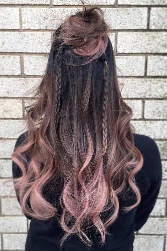 13 Hair Color Ideas For Brunettes Dark Ombre Hair Cool Hair Color Brunette Hair Color