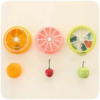 Buy 'Cutie Bazaar – Fruit Slice Pill Box' with Free International Shipping at YesStyle.com. Browse and shop for thousands of Asian fashion items from China and more!
