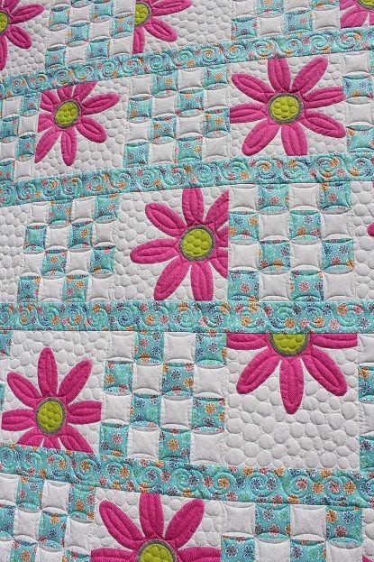 Tamarack Shack Doo Da Daisy by Amy Bradley | Quilts For All ... : daisy quilts - Adamdwight.com