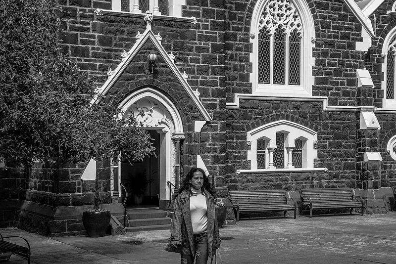 Leaving Church Melbourne Australia September 2014
