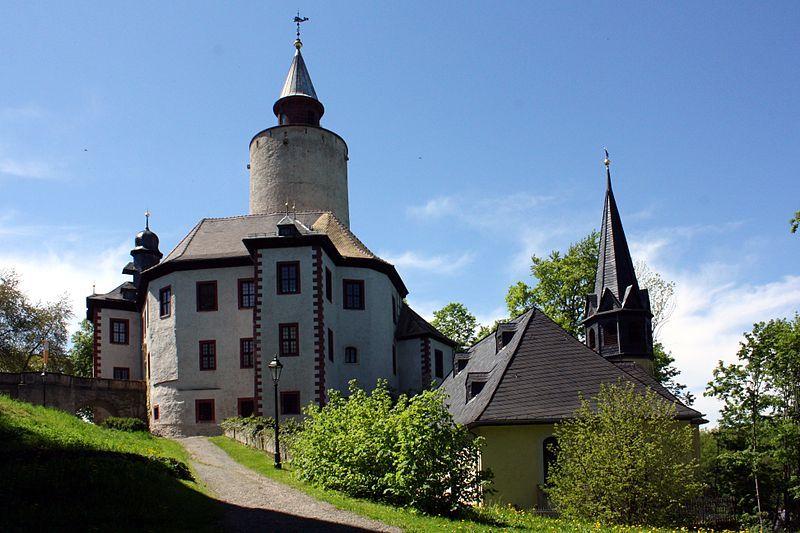 Posterstein, burg & kirche (Gera, Altenburger Land) TH DE