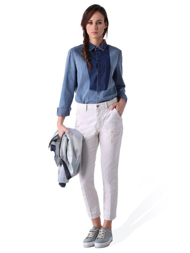 7 λευκά παντελόνια που θα φοράς ξανά και ξανά αυτή την εποχή - JoyTV ... d3649e06049