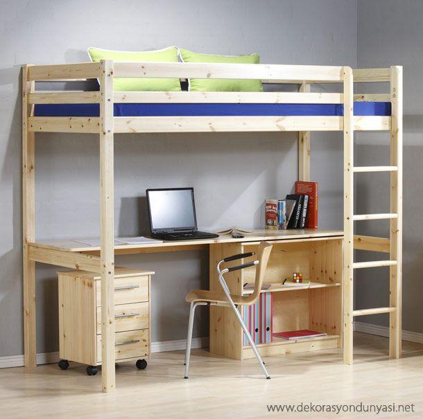 Çocuk Odası çalışma Masası Ve Ahşap Mobilyalar: Ranzalar, Yatak Mobilyası