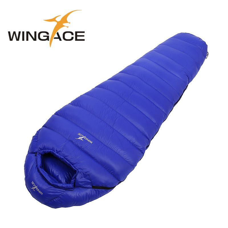 Fill 600g Winter Sleeping Bag Goose Down Camping Adult Mummy Travel Waterproof Uyku Tulumu Sacde Couchage