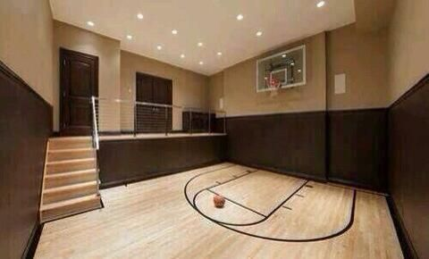 Dedicated Athletes On Twitter Home Basketball Court Dance Rooms Dream House