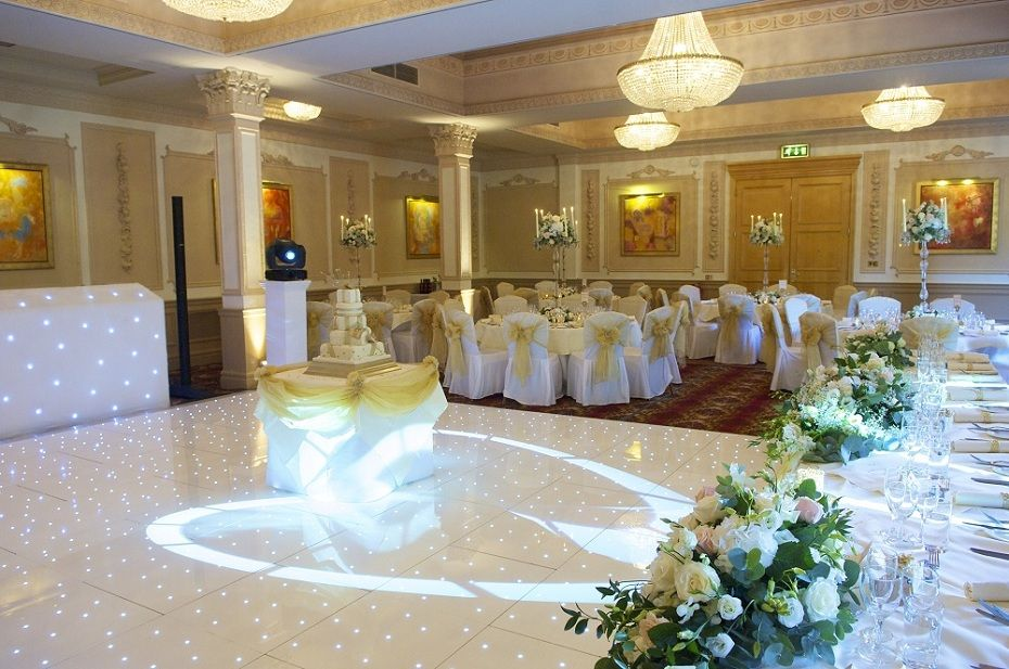 Bridgeman Selwin Suite Set With Chair Covers From Venue Stylists - Wedding chair covers essex