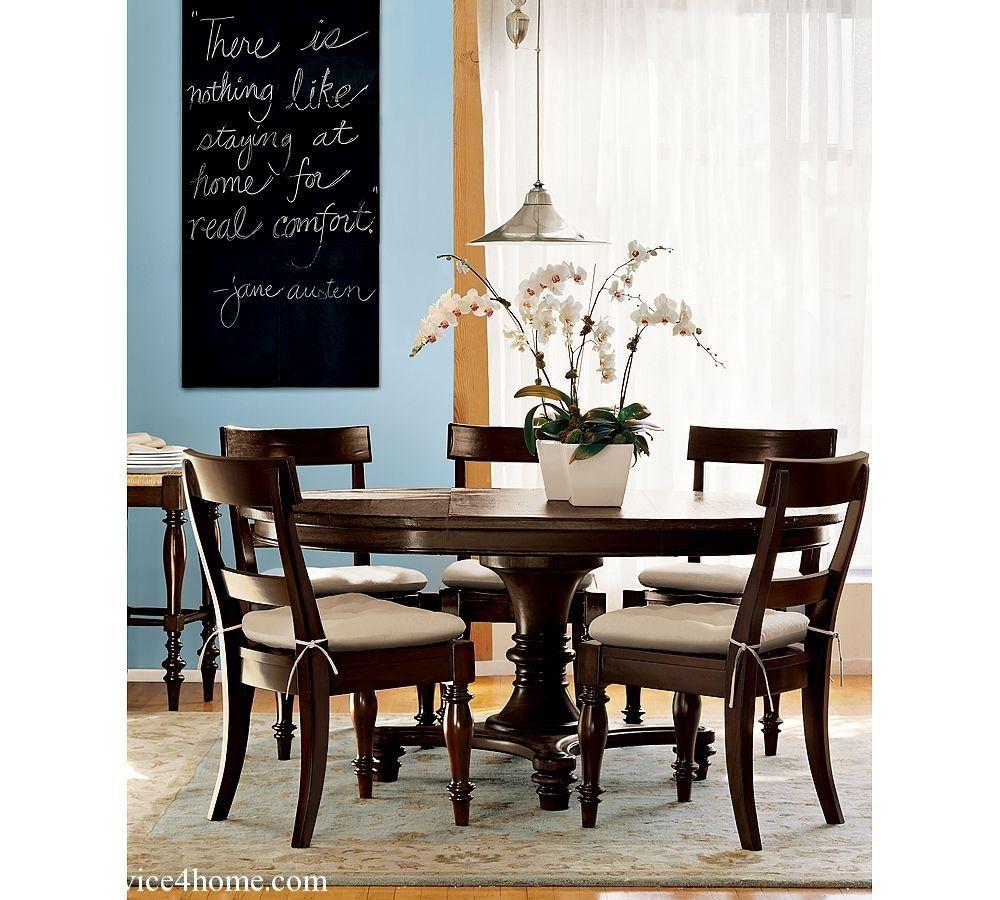 Diningroom  Dark Cherry Hardwood Round Dining Table Design And Brilliant Dark Cherry Dining Room Set 2018