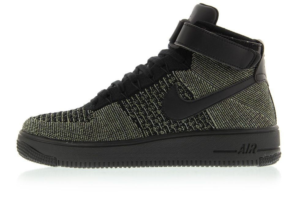 men's nike air force 1 flyknit military alphabet