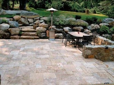 b0e6e9e04027eae1d1f37c00e66b9157 Travertine Pavers For Backyards Ideas on silver travertine backyard, firepit backyard, brick pavers backyard, cement pavers backyard,