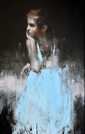 Study for a painting 5, oil on board, 14ins x 22ins. mark demsteader