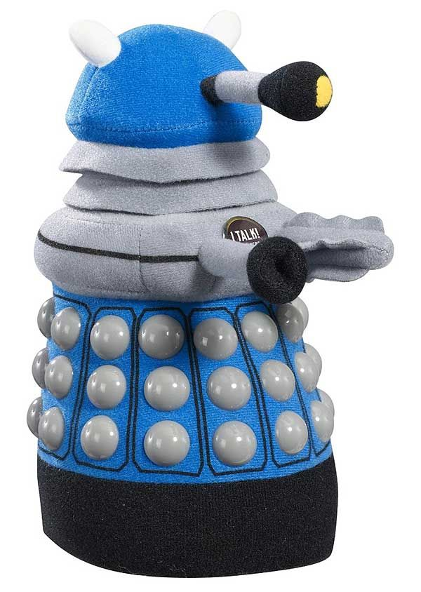 """Doctor Who"" Doctor Who: Medium Blue Dalek Talking Plush at BBC Shop"