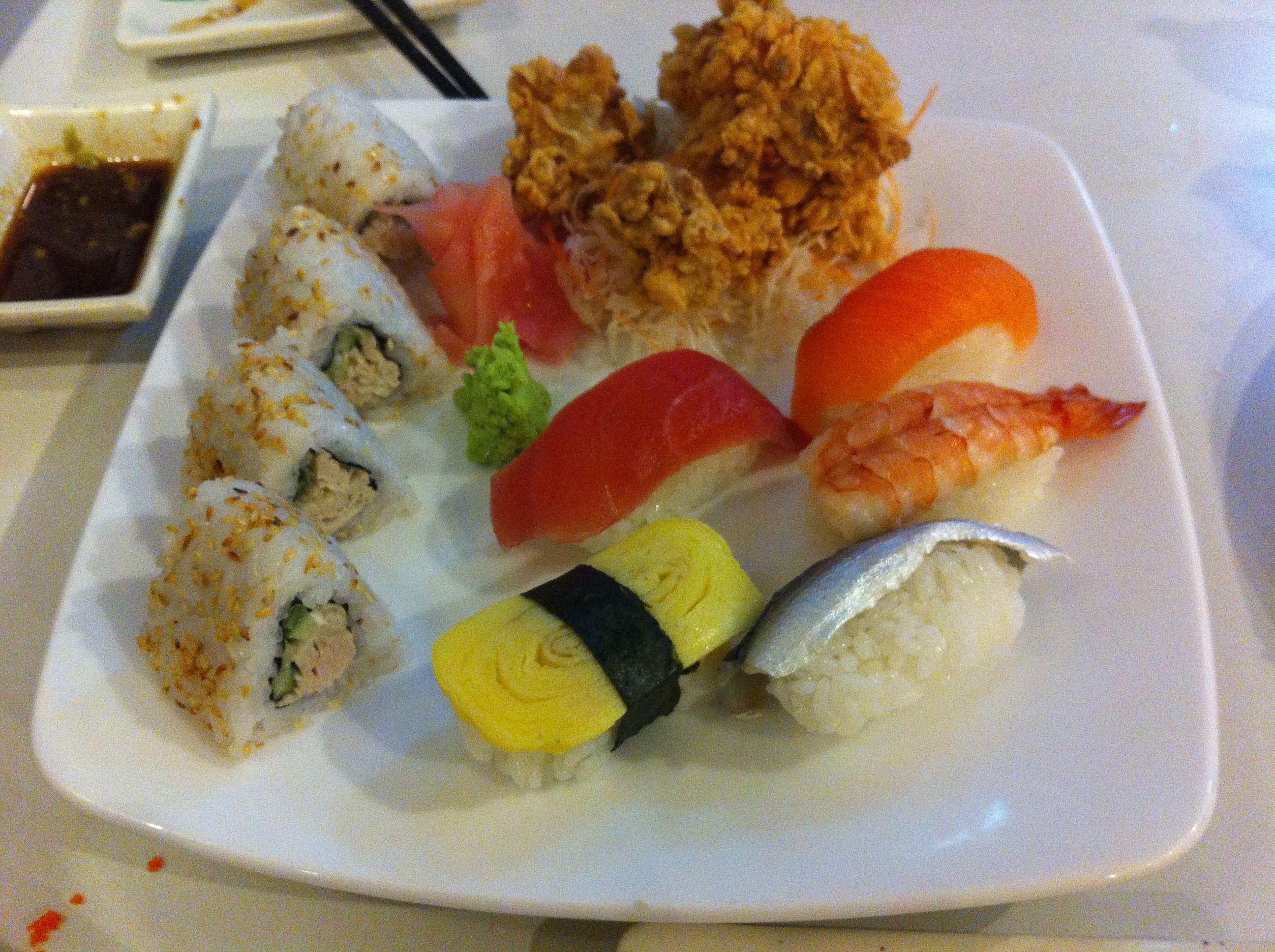 Set sushi - Shabu sushi
