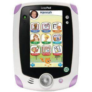 お友達の家で遊んで、娘が一目惚れしたおもちゃ。アメリカで流行の知育玩具。買ってみるべき?  LeapFrog LeapPad1 Explorer (pink)