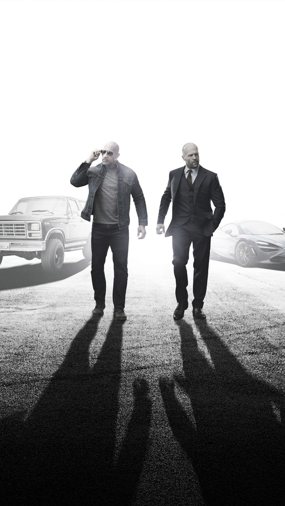 Dwayne Johnson & Jason In Fast & Furious Presents Hobbs