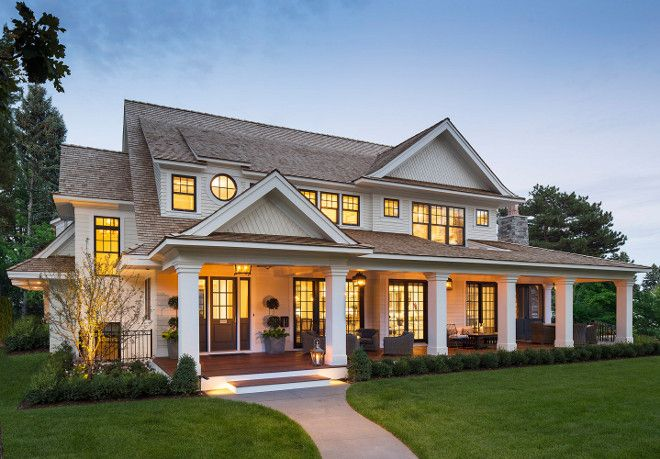 Dream Home Dream Home Front Porch Dream Home Architecture Dreamhome Elevation Homes House And Home Magazine House Exterior Architecture House