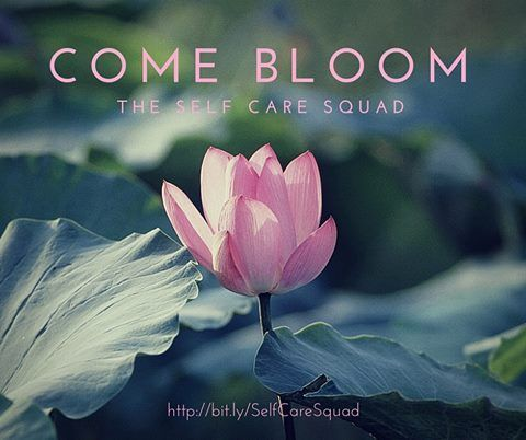 The Self Care Squad: It's a place for women (and those who identify as women/femme) to do the very special work of taking care of ourselves. We support and challenge each other, inspire and push each other, and we create a soft place to fall on the bad days. If you're ready to bloom, we'd love to have you join us