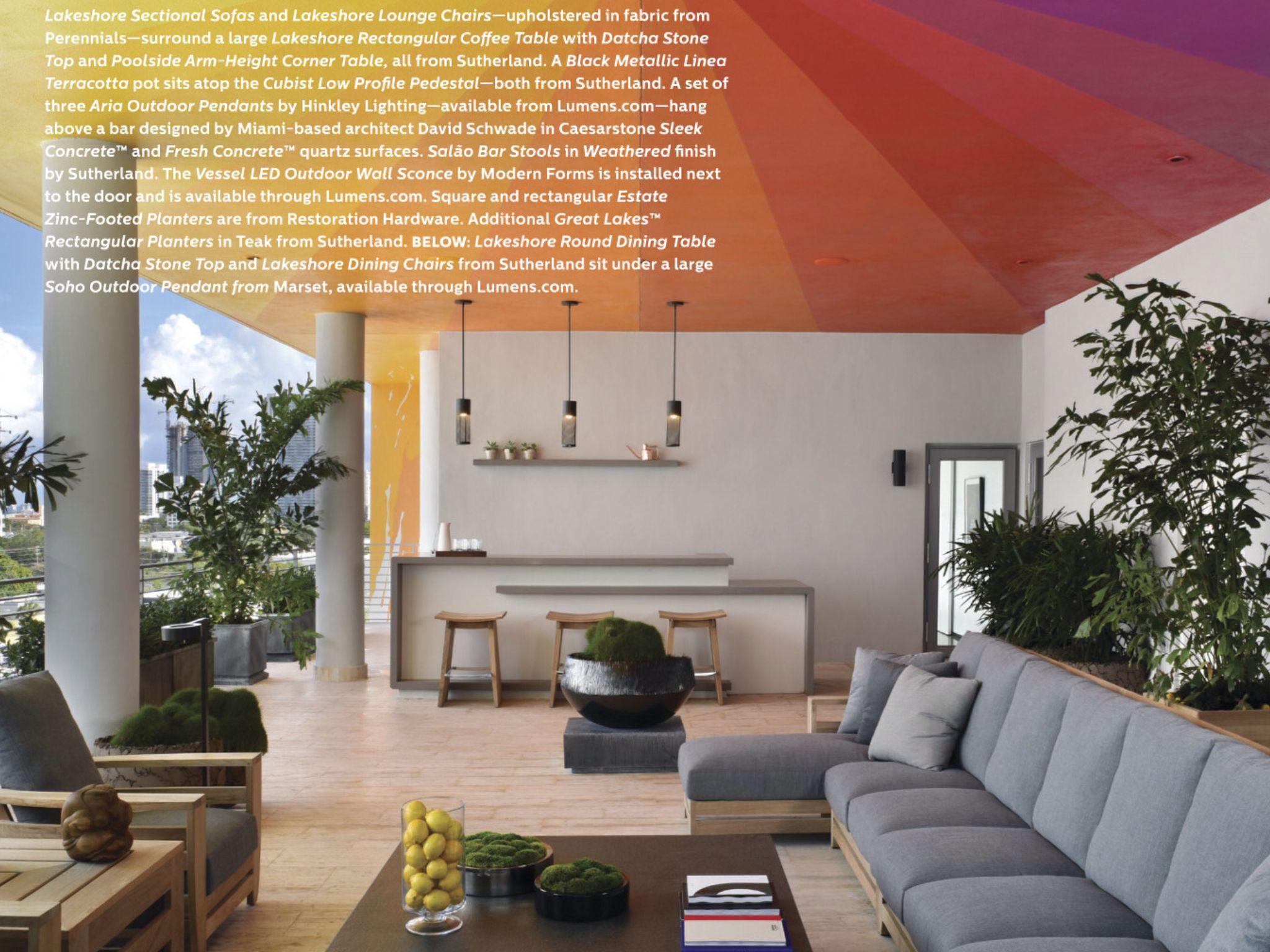 Loggia Furniture Plan