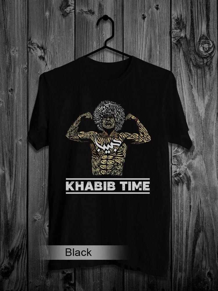 84c37a536 Khabib Nurmagomedov T-Shirt Arabic Boxing MMA UFC Black colour Top tee shirt  #fashion #clothing #shoes #accessories #mensclothing #shirts (ebay link)
