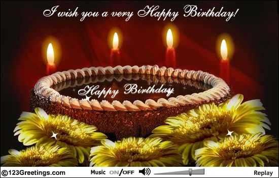Pin By Ani Mish On For My Dear Friends Happy Birthday Beautiful Birthday Cards Email Birthday Cards