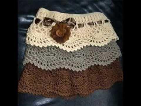 fe1fe9a6b Preciosas Faldas de Niñas Tejidos a Crochet | CROCHET Y PUNTO ...