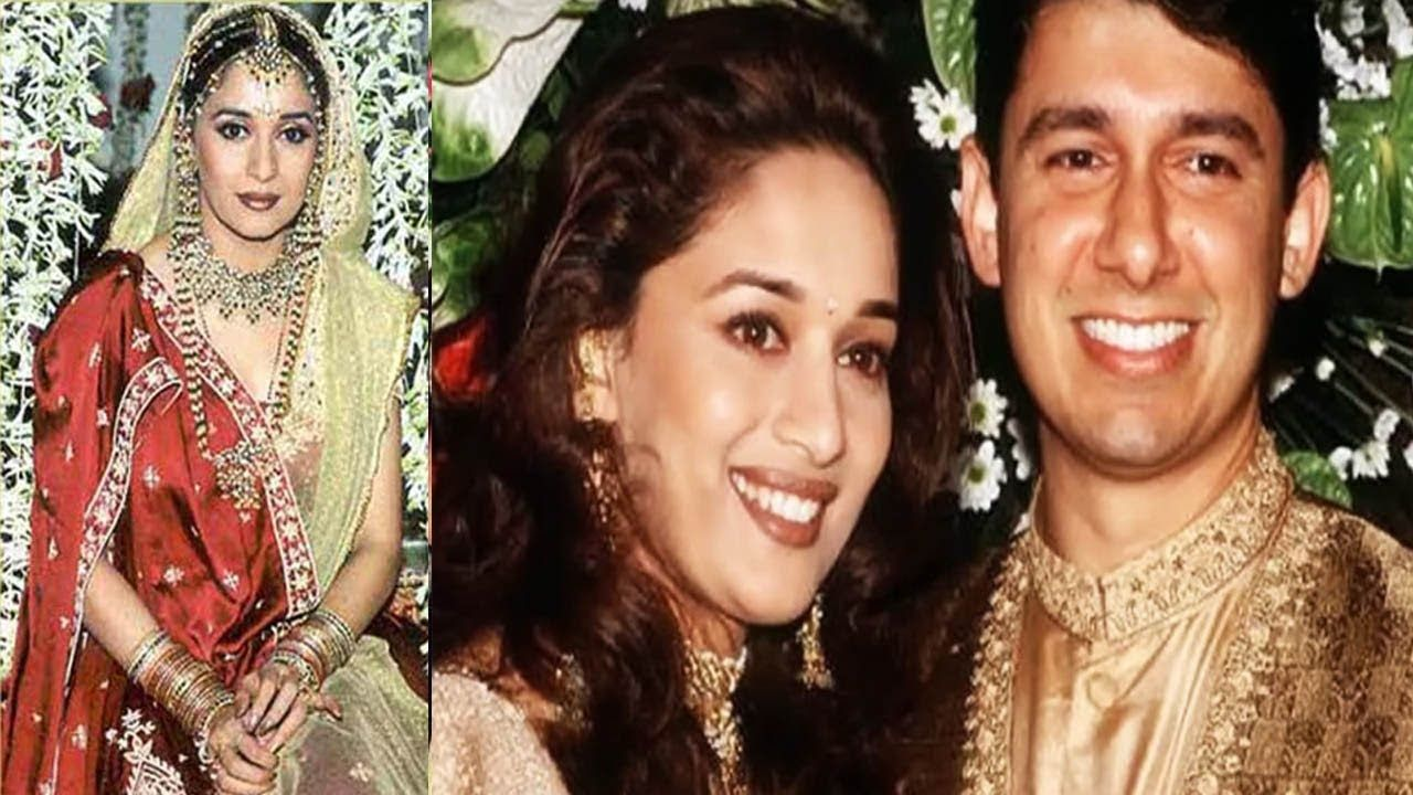 birthday specila madhuri dixit wedding album on her ...
