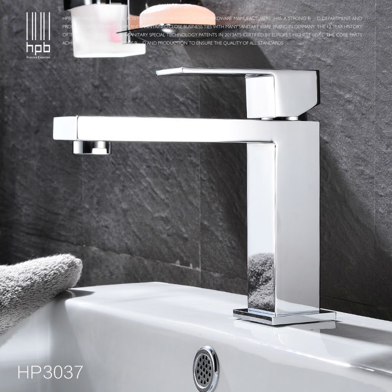 HPB Brass Basin Faucet Hot and Cold Water Single hole Single handle ...