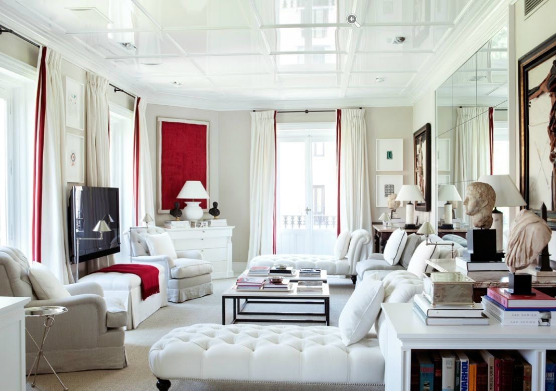 Luis Bustamantes Stylish Symmetrical Classical And Modern Interiors