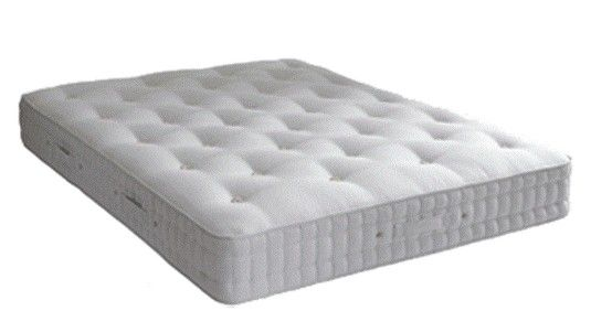Hypnos Silver 800 Pocket Mattress - with over 850 ReActive pocket springs and a handcrafted finish, these mattresses are truly superb quality. 8
