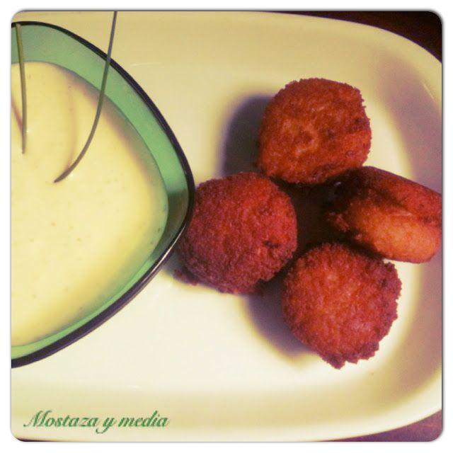 Falafel de guisantes con tzatziki vegetal