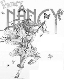 Fancy Nancy Coloring Page | Disney LOL | 306x250