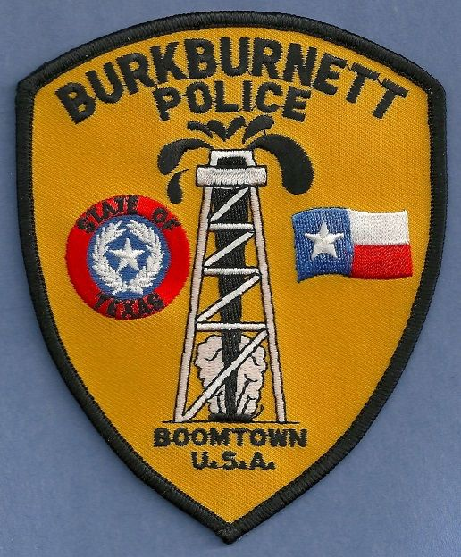 Burkburnett Pd Tx Texas Police Fire Badge Police Patches
