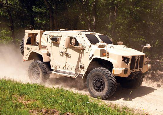 Oshkosh is submitting the Light Armored Tactical Vehicle (LATV ...