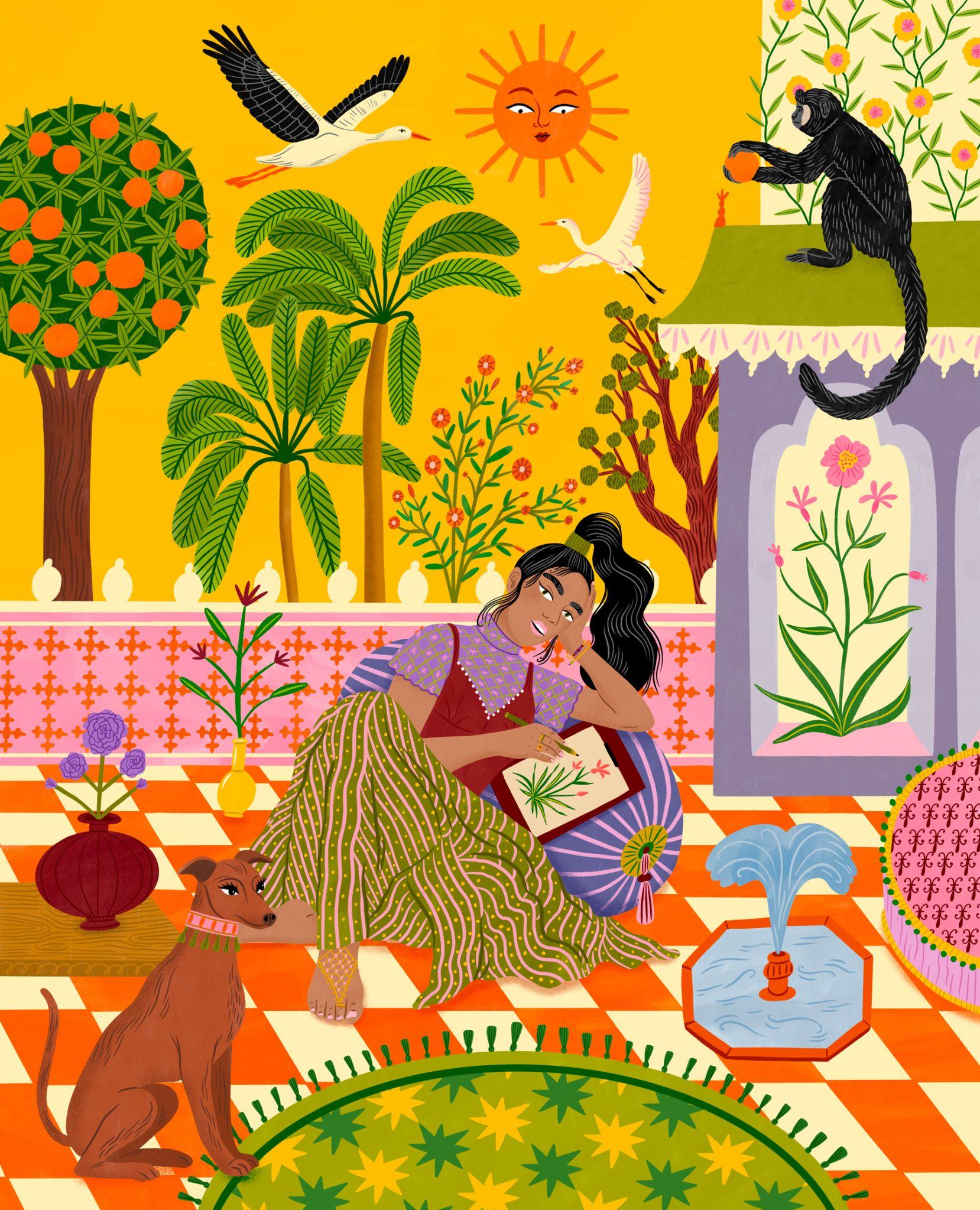 Bodil Jane   Character Illustration   Folio illustration agency