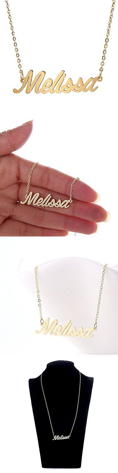 0d9842a04232a Jewelry 175526: Aolo Little Personalized Name Necklace Melissa ...