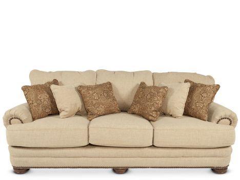 LANE 86330/4121 16   Lane Stanton Wheat Sofa | Mathis Brothers Furniture