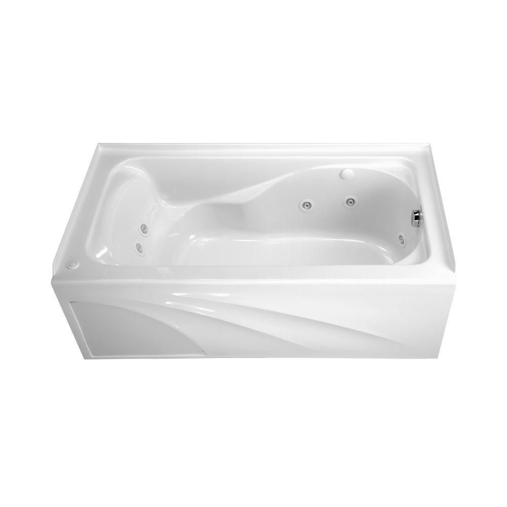 American Standard Cadet 5 ft. X 32 in. Right Drain EverClean ...